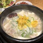 炭火焼肉・韓国料理 KollaBo - 参鶏湯純豆腐チゲ