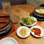 炭火焼肉・韓国料理 KollaBo - 参鶏湯純豆腐チゲ定食
