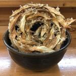 うどん 陣 - ごぼう天うどん 550円(税込)