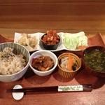 からんころん食堂 - 晩ご飯定食@1,500円