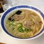 天琴ラーメン - 大盛りラーメン(700円)