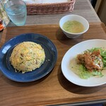 Shikaken - 五目炒飯セット