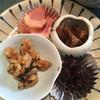 中華薬膳館ろぢん - 料理写真:前菜 鴨燻製、黒胡麻と胡桃、レバー、黒豆酢。