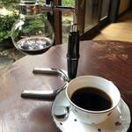 珈琲さとう - コーヒーはカップに1.5杯分程入ってます