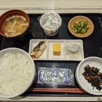 はまきた食堂 - 料理写真:朝定食 680円