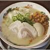 Fukuya - 料理写真:半熟味付玉子ラーメン+ワンタン+カリカリ 850+270+50円