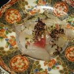 懐食 しばた - 真鯛のお造り