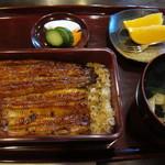 うなぎ藤川 - 料理写真:うな重 花2600円