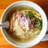 麺堂HOME - 料理写真:カマス煮干しの冷やしそば/麺大盛、チャーシュー抜き