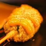 152608668 - 京都の蓬麩 自家製の柚子味噌で
