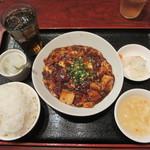 健康中華庵 青蓮 - 麻婆豆腐セット