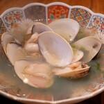 コマル - 地蛤と生ノリの酒蒸し