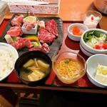 あっぱれ焼肉元気 - 料理写真:焼肉定食A    ¥1,500-