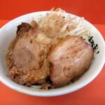 暴豚製麺所 - 醤油ラーメン小(700円)⁺豚増し(200円)
