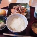 ますや - 豚肉スタミナ炒めランチ850円