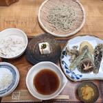 手打蕎麦ぐらの - 昼膳 せいろ(小)1,320円