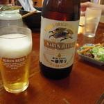 東池袋大勝軒 - ビール