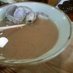 はなみずき食堂 - 期間限定、アサリの味噌汁