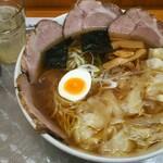 川越大勝軒 - チャーシューワンタン麺中盛り