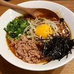 鶏ポタラーメンTHANK - 鶏ポタンタン麺:920円