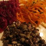 LE GUMBO - 野菜の前菜盛り合わせ