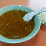 白蘭 - 坦々麺と小ライス