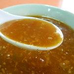 白蘭 - 坦々麺のスープ