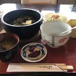 コーヒープラザイースト - 料理写真:石焼たかな飯定食¥750