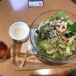 サラダデリMARGO - 超ベジタリアンL+日替わりスープ