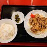 中華料理 太玉 - 料理写真:令和3年6月 サービス定食 パイロウ+ライス