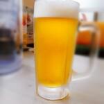 くるまやラーメン - 生ビール