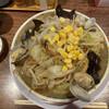 博多とんこつ 天神旗 - 料理写真:海鮮ちゃんぽん15品目 1300円の麺大+100円(2021年6月)