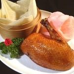 青冥 - 写真撮影です♪ これぞ「北京ダック」☆*:.。. o(≧▽≦)o .。.:*☆ 食べたい〜(笑)