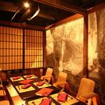 個室×食べ放題 海鮮炉端 産地直送北海道 - 内観写真:ほりごたつの個室でゆったりと・・・(8名様席)