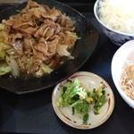 レストラン コーエイ - 焼肉定食700円なり。