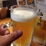 15268366 - 祭りの成功を祝い・乾杯