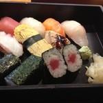 仙之助 - メインに寿司をチョイス