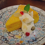 Cour Plus - かぼちゃのチーズケーキ