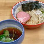 麺処 有彩 - 料理写真:昆布水つけ麺醤油