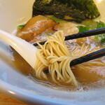 らぁめん二代目オカワリ - 麺