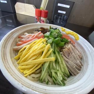 円山 嬉 - 料理写真:冷やしラーメン