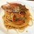 オステリア リュカ - 渡り蟹とアメリケーヌソースのトマトクリームパスタ