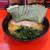 横浜家系 志田家 - 料理写真:ラーメン 750円+のり100円