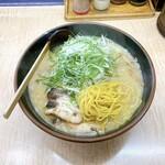 らーめん信玄 - 信州みそ+野菜大盛(麺)  ¥800+150=¥950