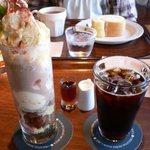 1527435 - Pロールパフェ アイスコーヒー