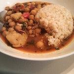パチャカリ - ひよこ豆カレー