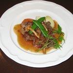 SALA - ディナーメニュー お肉料理(週替わり) ¥870