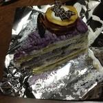 マリーヌ洋菓子店 - さつまいものショートケーキ