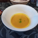 wainguradetanoshimubishokuterra - カボチャのスープ