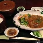 南船場 麹 - 日替わりランチ(煮込みハンバーグ)